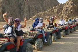 Quad Fahren Hurghada Ausflug